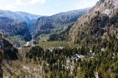 Berglandskap, Abchazien Royaltyfri Foto
