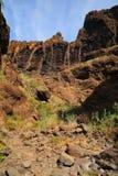 Berglandskap av klyftamaskaen Royaltyfria Bilder
