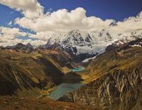 Berglandskap av Peru Arkivbilder