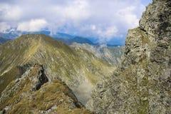 Berglandskap för hög höjd Fotografering för Bildbyråer
