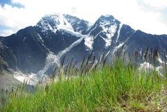 Berglandskap, härlig naturbakgrund Arkivfoto