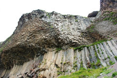 Berglandskap, härlig naturbakgrund Arkivbilder