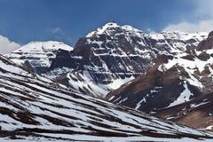Berglandskap i den Ngari regionen, Tibet Fotografering för Bildbyråer