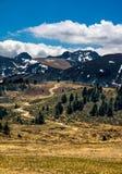 Berglandskap i Pyrenees, Frankrike Arkivbild