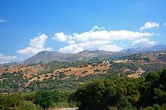 Berglandskap, Kreta Arkivfoton