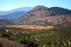 Berglandskap, Kreta Fotografering för Bildbyråer