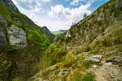 Berglandskap på vår Royaltyfri Bild