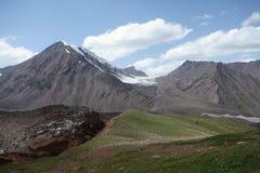 Berglandskap. Taket av världen Arkivfoton