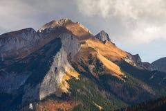 Berglandskap, Tatry royaltyfria foton