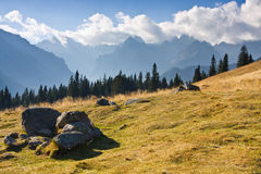 Berglandskap, Tatry royaltyfri foto