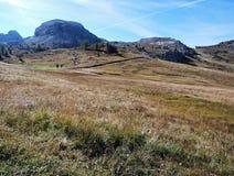 Berglandskappanorama Royaltyfri Foto