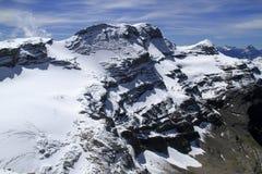 Berglandskapsikt Arkivfoto