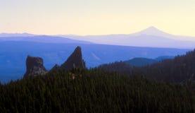 berglandskapvildmark Arkivbilder