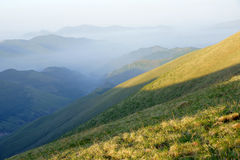 berglandskapwutai Royaltyfri Bild