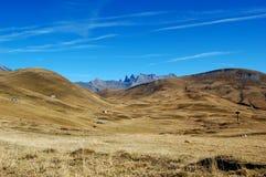 Berglanscape, Hochebenede Paris, französische Alpen Stockfoto