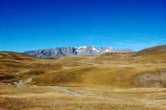 Berglanscape, Hochebenede Paris, französische Alpen Stockfotografie