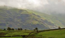 Berglicht, Cumbria Royalty-vrije Stock Afbeeldingen