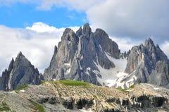 Bergmaxima Arkivbild