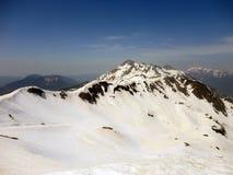 Bergmaximum, Sochi, Krasnaya Polyana Arkivfoton