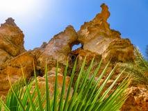 Bergmaximumet på stranden i Sharm el Sheikh, Egypten Royaltyfria Bilder