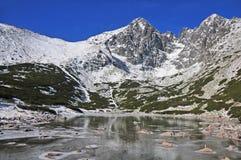 Bergmeer stock afbeeldingen