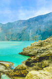 Bergmening, Java, Indonesië royalty-vrije stock afbeeldingen