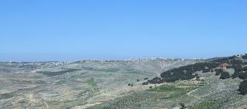 Bergmening van de Nebo-berg stock foto
