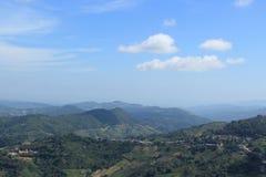 Bergmeningen in Thailand Royalty-vrije Stock Foto
