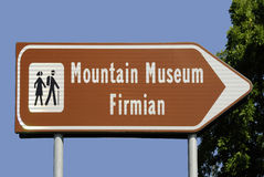 Bergmuseum Firmian in Zuid-Tirol Royalty-vrije Stock Foto