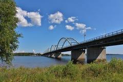 Bergnäsbron w Luleå Obrazy Stock
