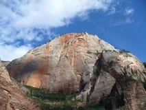 bergnationalparkzion Arkivbild