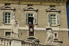 Bergoglio Βατικανό του Francesco παπάδων Στοκ Φωτογραφία