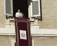 Bergoglio του Francesco παπάδων Στοκ Εικόνες