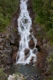 bergpölvattenfall Royaltyfri Fotografi