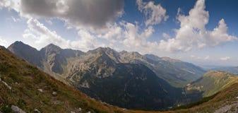 Bergpanorama Royaltyfri Bild