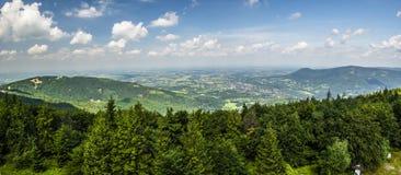 Bergpanorama Royaltyfri Foto