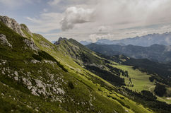 Bergpanorama och landskap Royaltyfri Bild