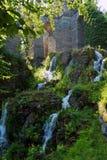 Bergpark-Wasserfall Stockfotografie