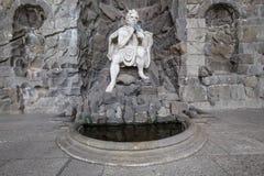 Bergpark wilhelmshöhe neptun雕象卡塞尔德国 库存图片