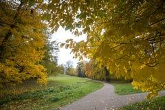 Bergpark wilhelmshoehe kassel germany in the autumn Stock Photos