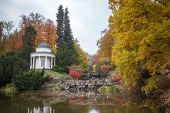 Bergpark wilhelmshoehe kassel germany in the autumn Royalty Free Stock Images