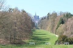 Bergpark Wilhelmshohe,德国 库存照片