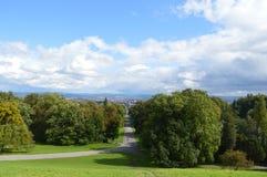 Bergpark Wilhelmshohe images libres de droits
