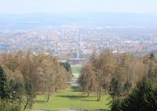 Bergpark Wilhelmshohe, Deutschland lizenzfreie stockfotografie