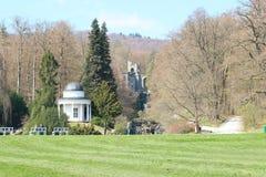 Bergpark Wilhelmshohe, Niemcy zdjęcie stock