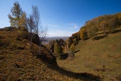 Bergpieken, stock afbeelding