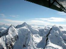 Bergpieken van Alaska stock fotografie
