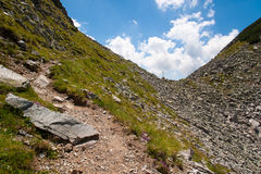 BergPirin landskap Fotografering för Bildbyråer