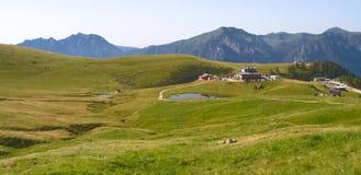 Bergplatå Arkivbilder
