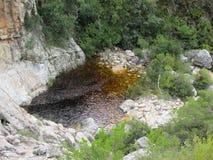 Bergpool stock afbeeldingen